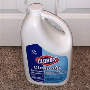 Cleaner! Disinfectant Cleaner w/Bleach
